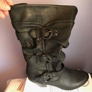 Rialto boots, mid-calf.  Size 7M